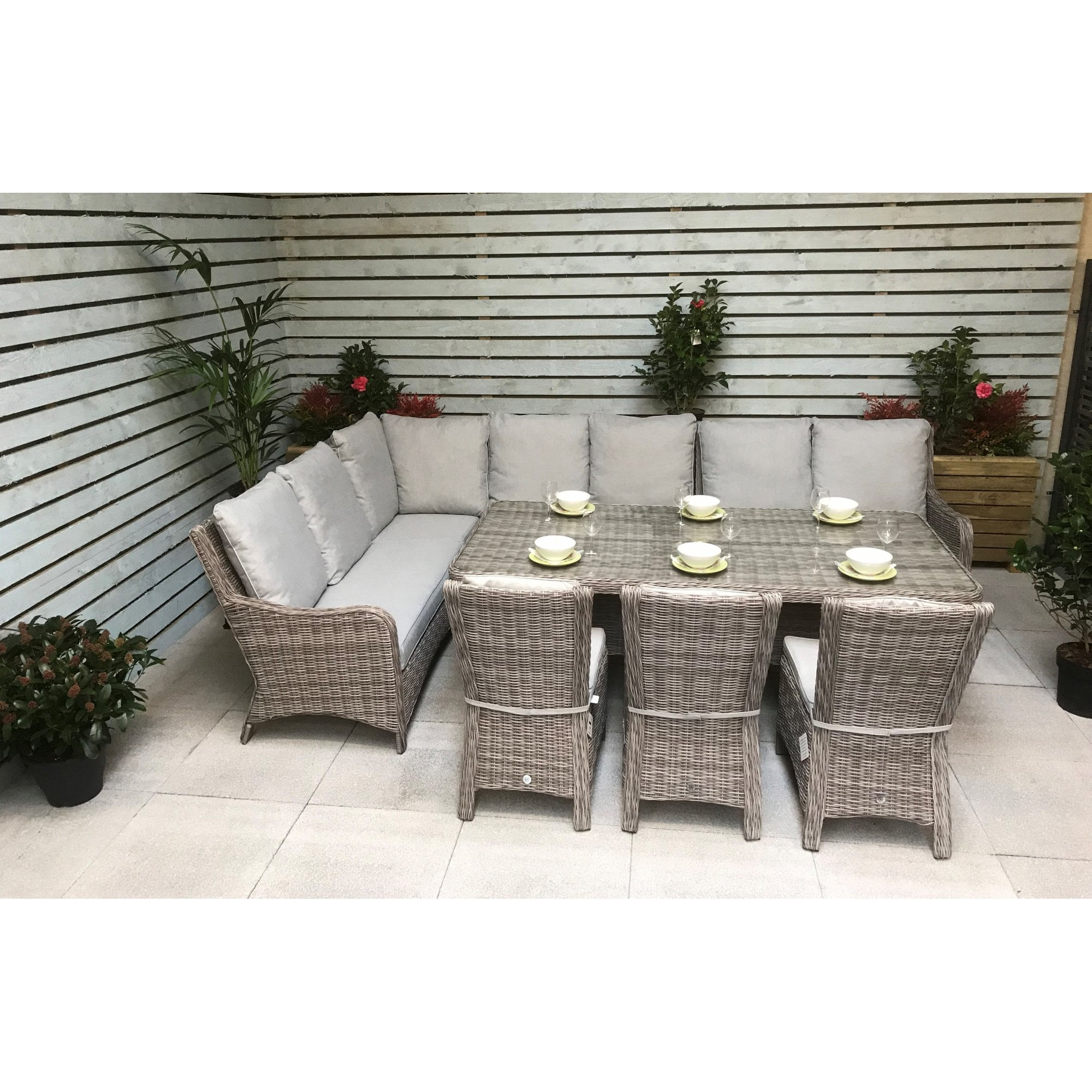 Alexandra Large Corner Dining Sofa Set