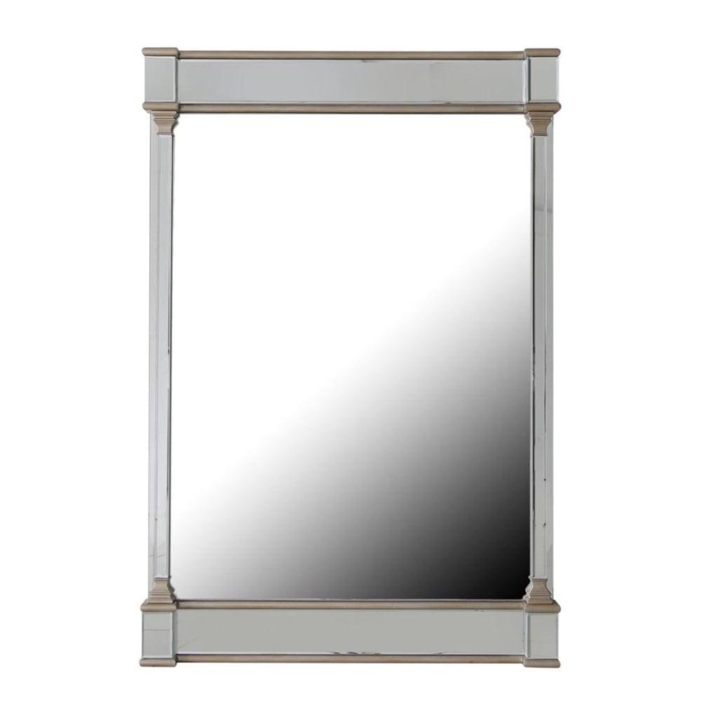 Aphrodite Antique Style Venetian Mirrored Column Mirror