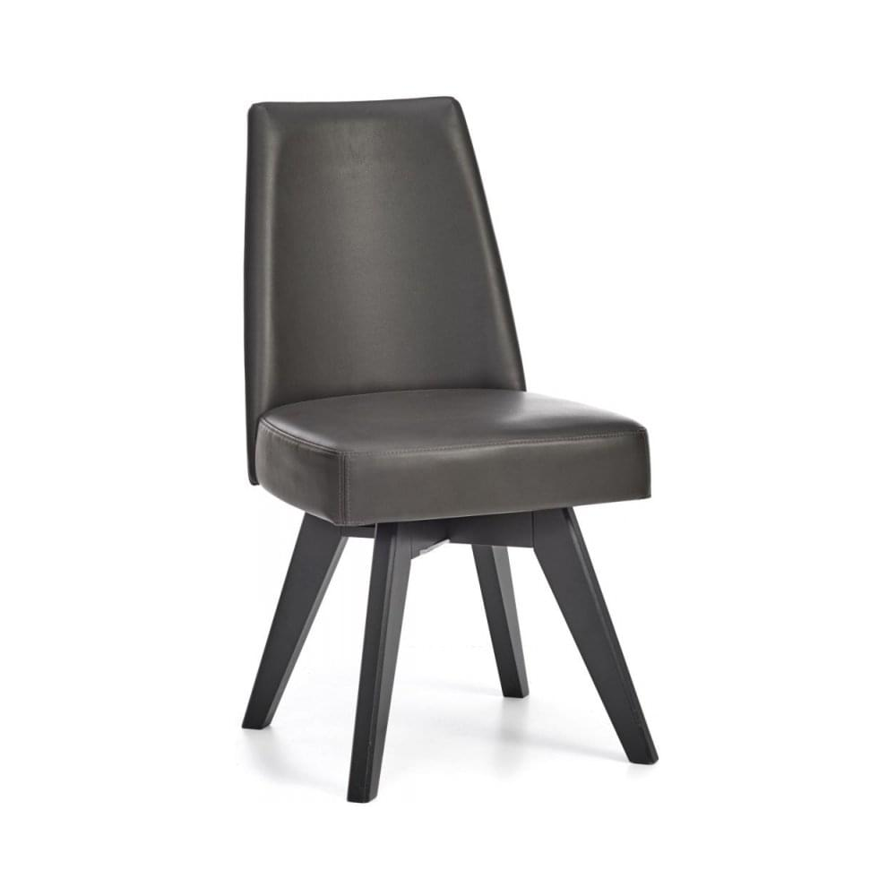 Stupendous Brunel Chalk Oak And Gunmetal Dining Set Oval With Grey Bonded Leather Upholstered Swivel Chairs Evergreenethics Interior Chair Design Evergreenethicsorg