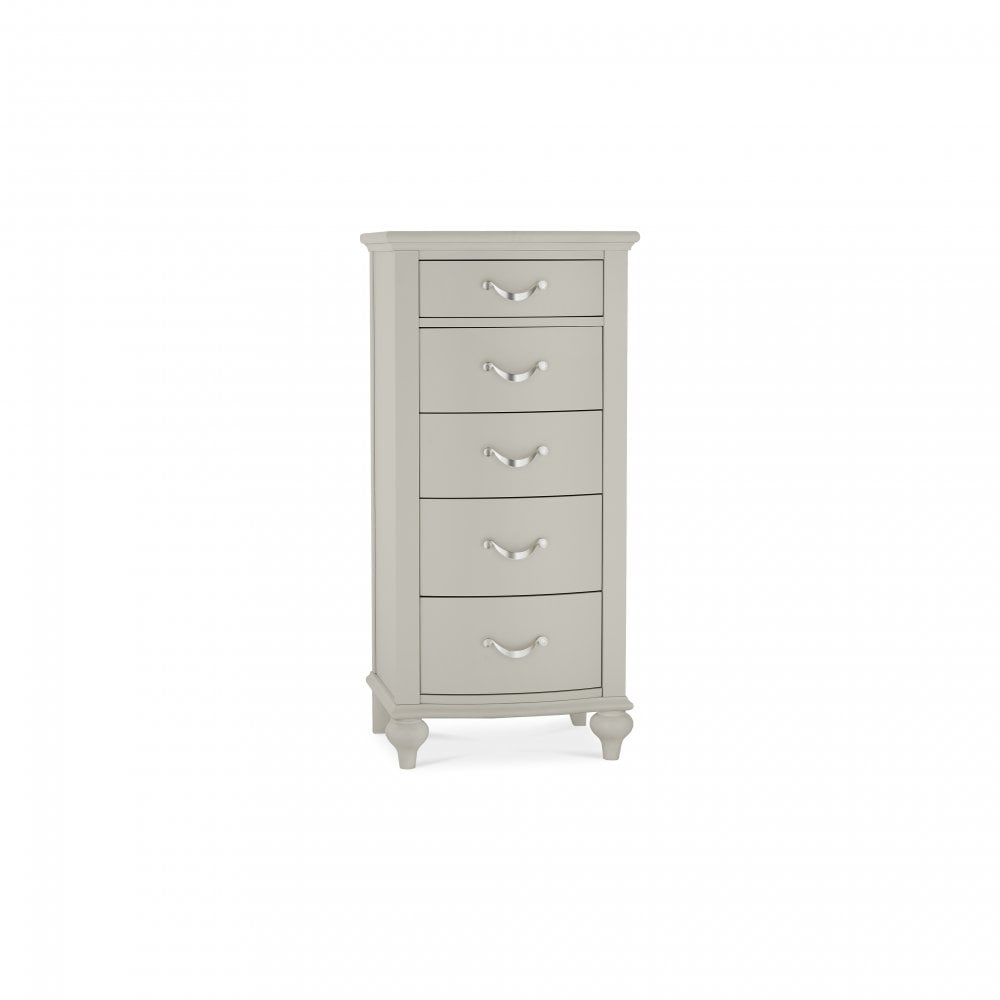 Montreux Chest Urban Grey 5 Drawer Tall