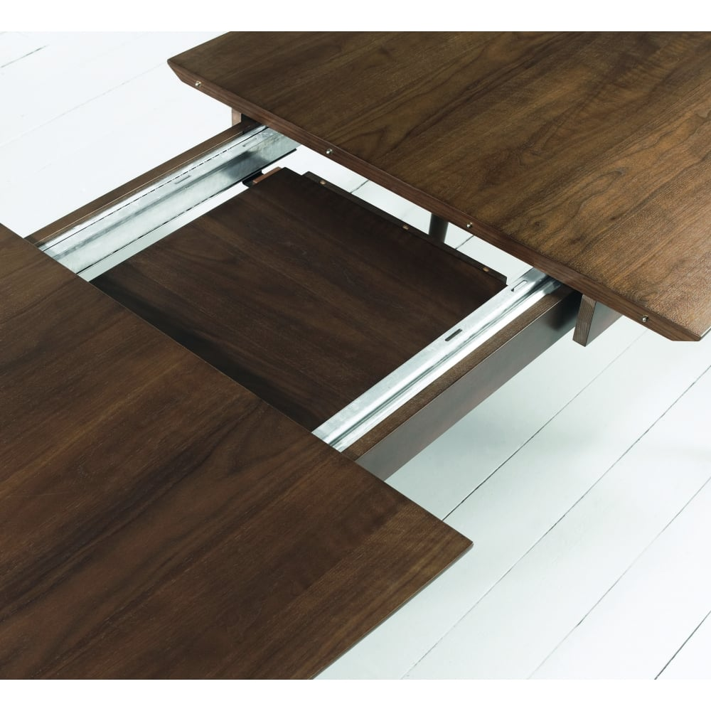 Oslo Walnut Dining Table 6 8 Extending Dining Room From Breeze Furniture Uk