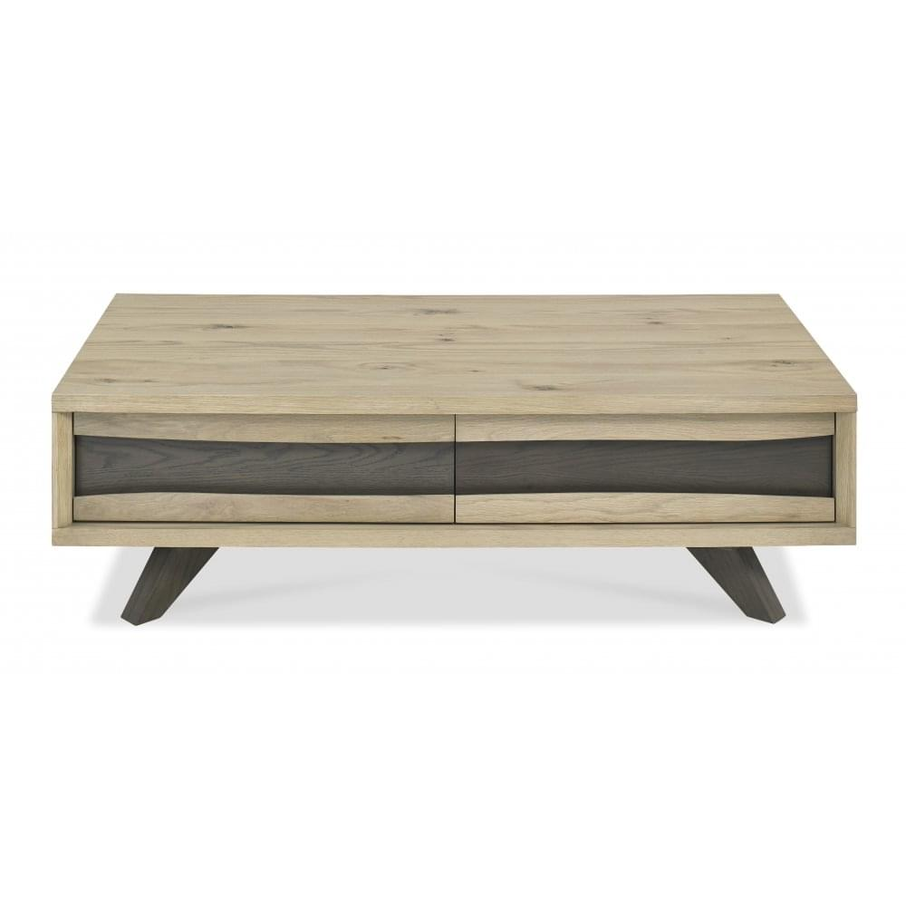 Signature Design Aldwin Weathered Gray Wood Coffee Table By Ashley