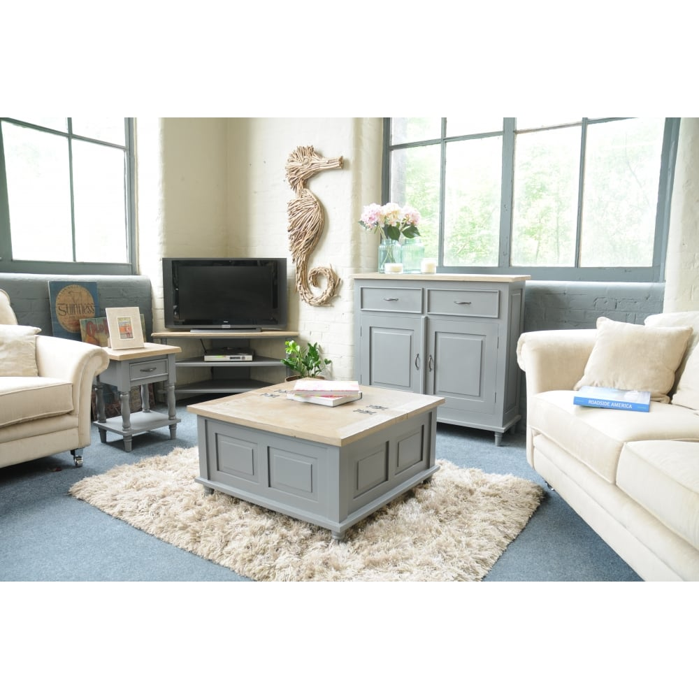 Chester Square Trunk Coffee Table - Living Room from Breeze Furniture UK