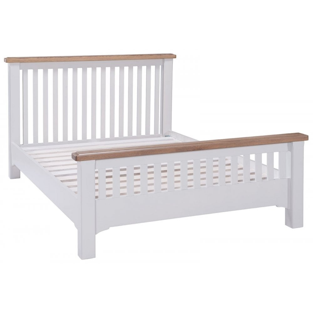Georgia Grey Painted Bed High Foot End