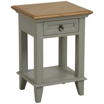 Normandy Painted Lamp Table - 1 Drawer