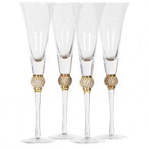 a0f3df6a5a32 Coach Home Set of 4 Diamante Ball Martini Glasses - Accessories from ...