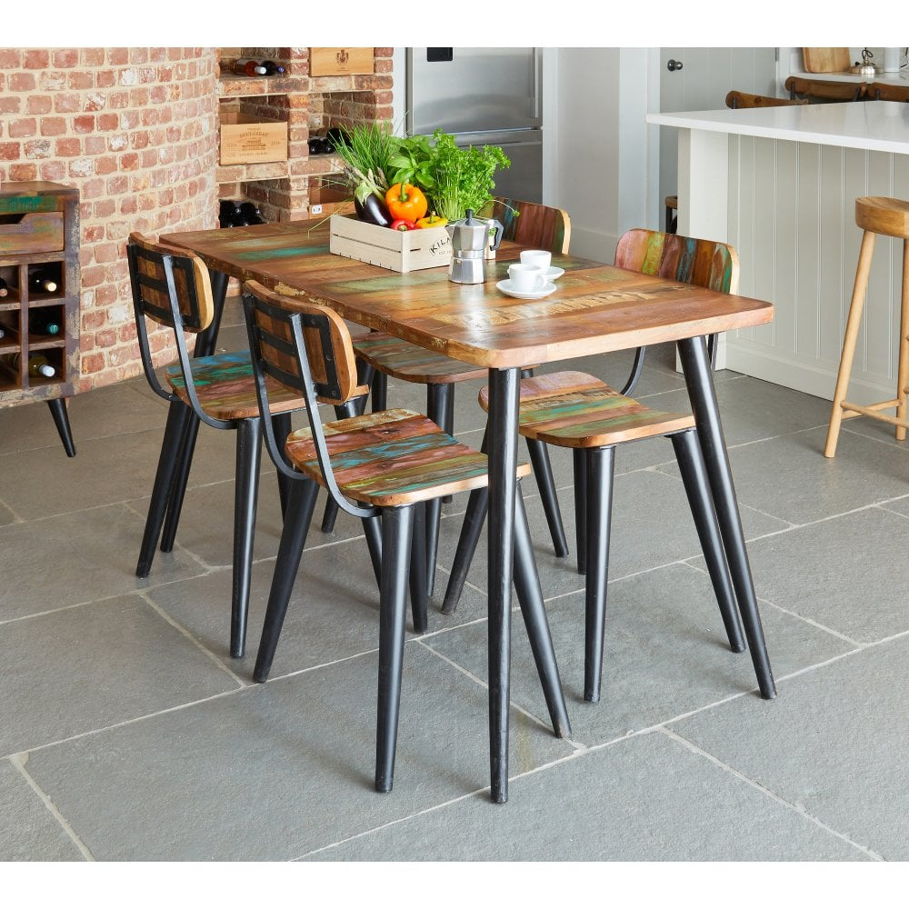 Coastal Chic Large Rectangular Dining Table Dining Room From Breeze Furniture Uk