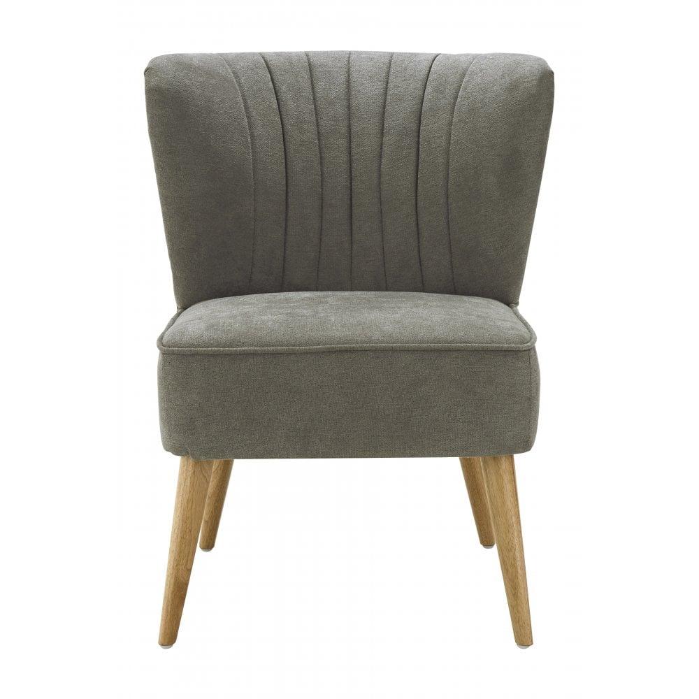 Geneva wingback chair grey