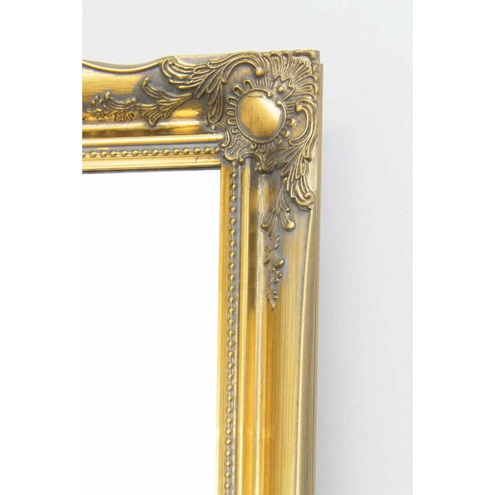 Hamilton Vintage Gold Antique Design Cheval Mirror