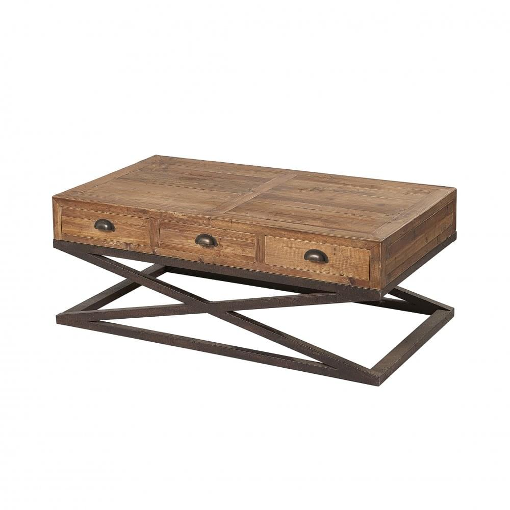 Hudson Bay 6 Drawer Coffee Table Living Room From Breeze