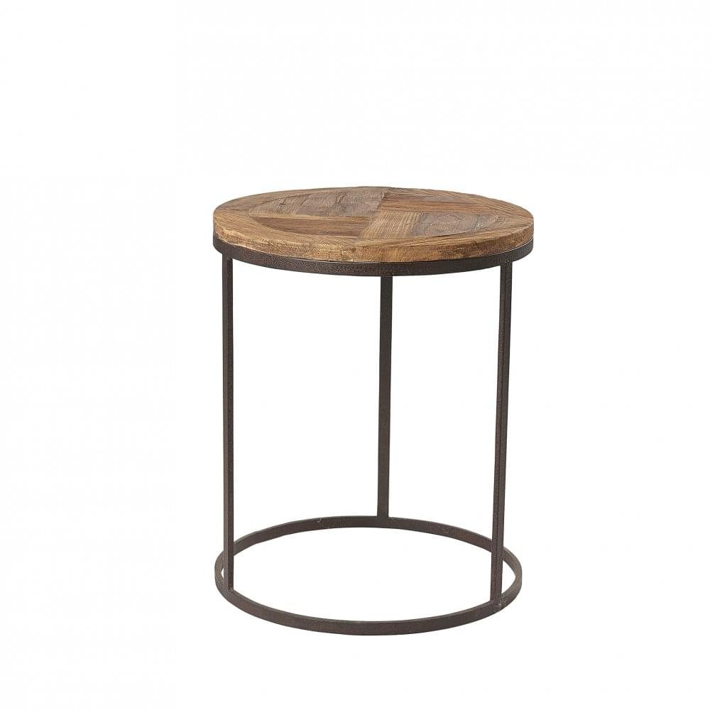 Hudson Bay Round Lamp Table Living Room From Breeze