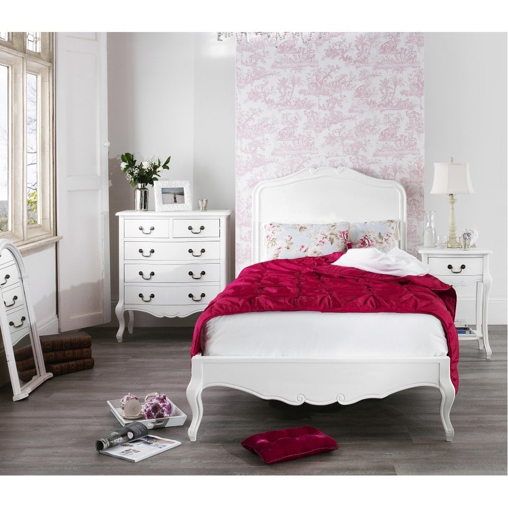 Juliette Shabby Chic Bed Bedroom From Breeze Furniture Uk