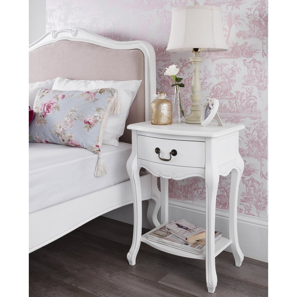 Juliette Shabby Chic Bedside Table 1