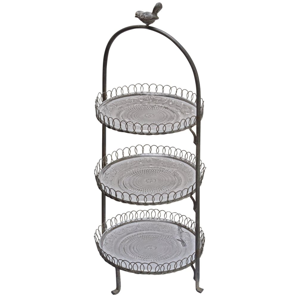 Little Bird 3 Tier Cake Stand
