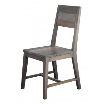 London Dining Chair with Timber Seat (Pair)