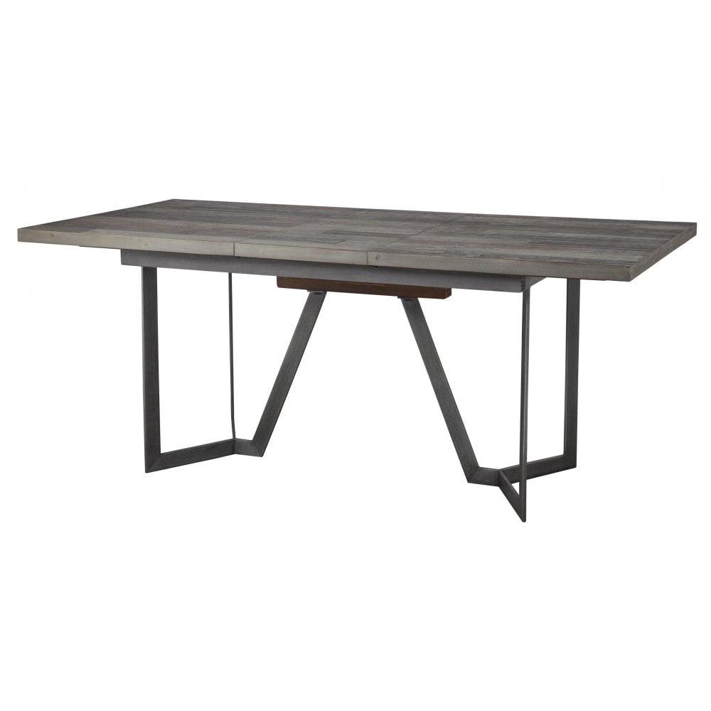 London Dining Table Extending Rectangular 140cm 180cm Dining Room From Breeze Furniture Uk