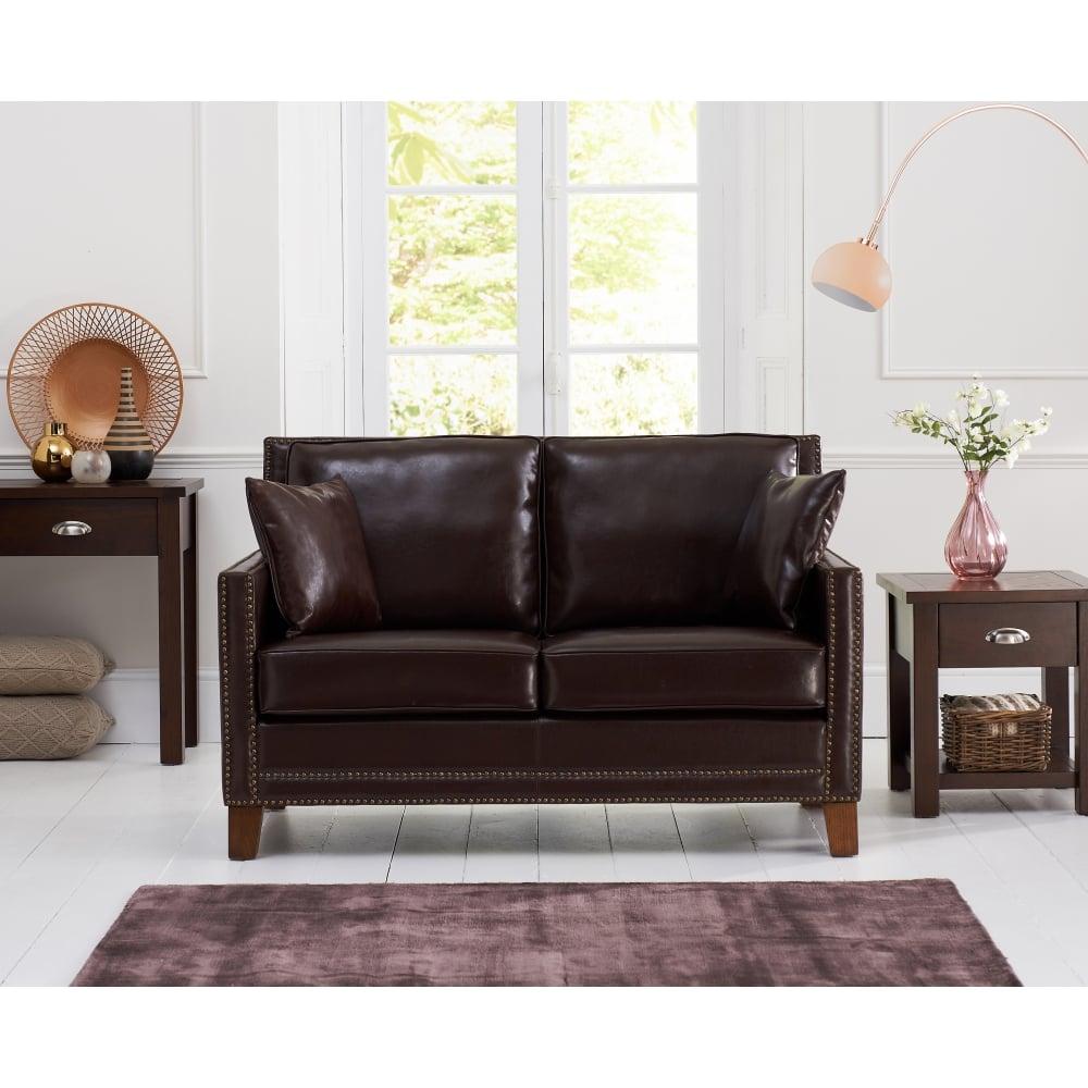 Admirable Mark Harris Arundel Brown Leather 2 Seater Sofa Download Free Architecture Designs Scobabritishbridgeorg
