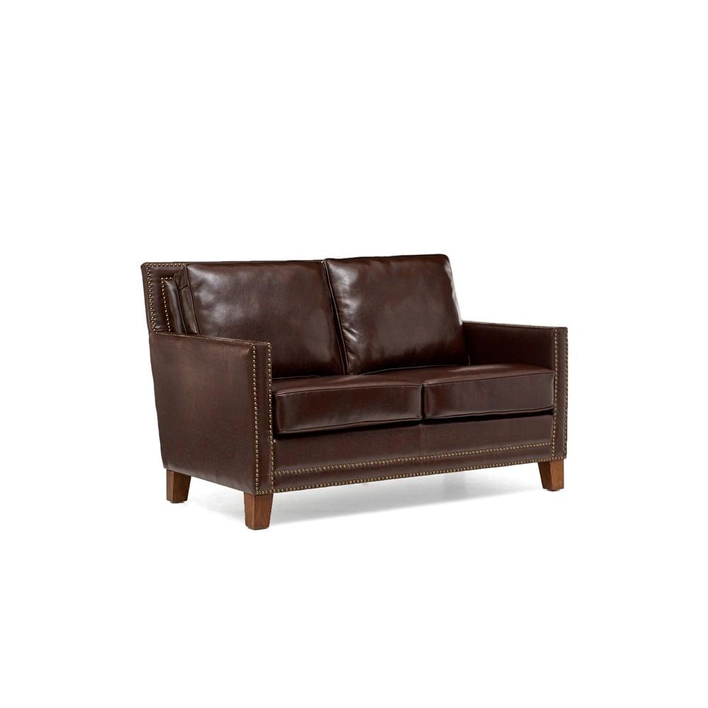 Mark Harris Arundel Brown Leather 2 Seater Sofa