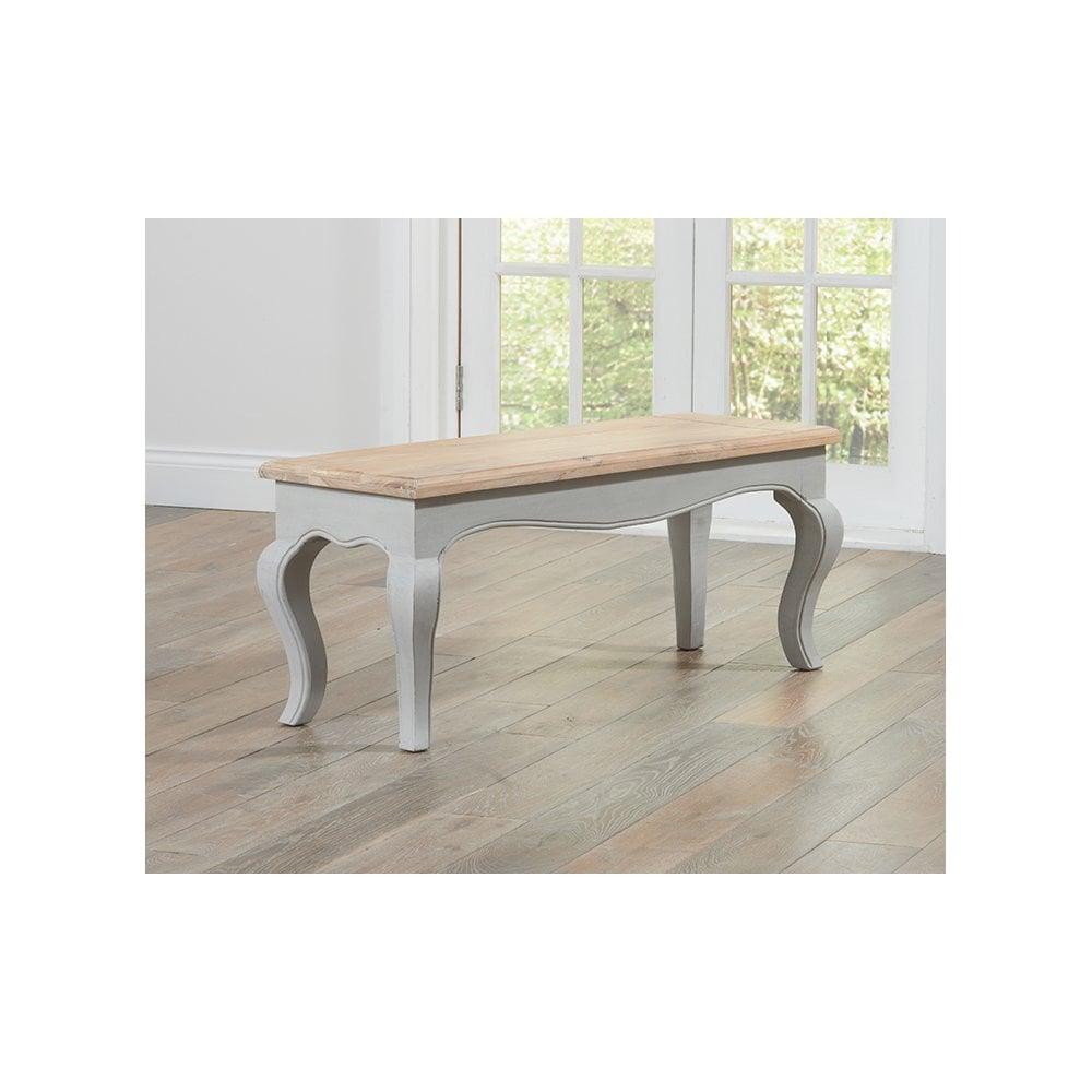 Sienna Grey Dining Bench