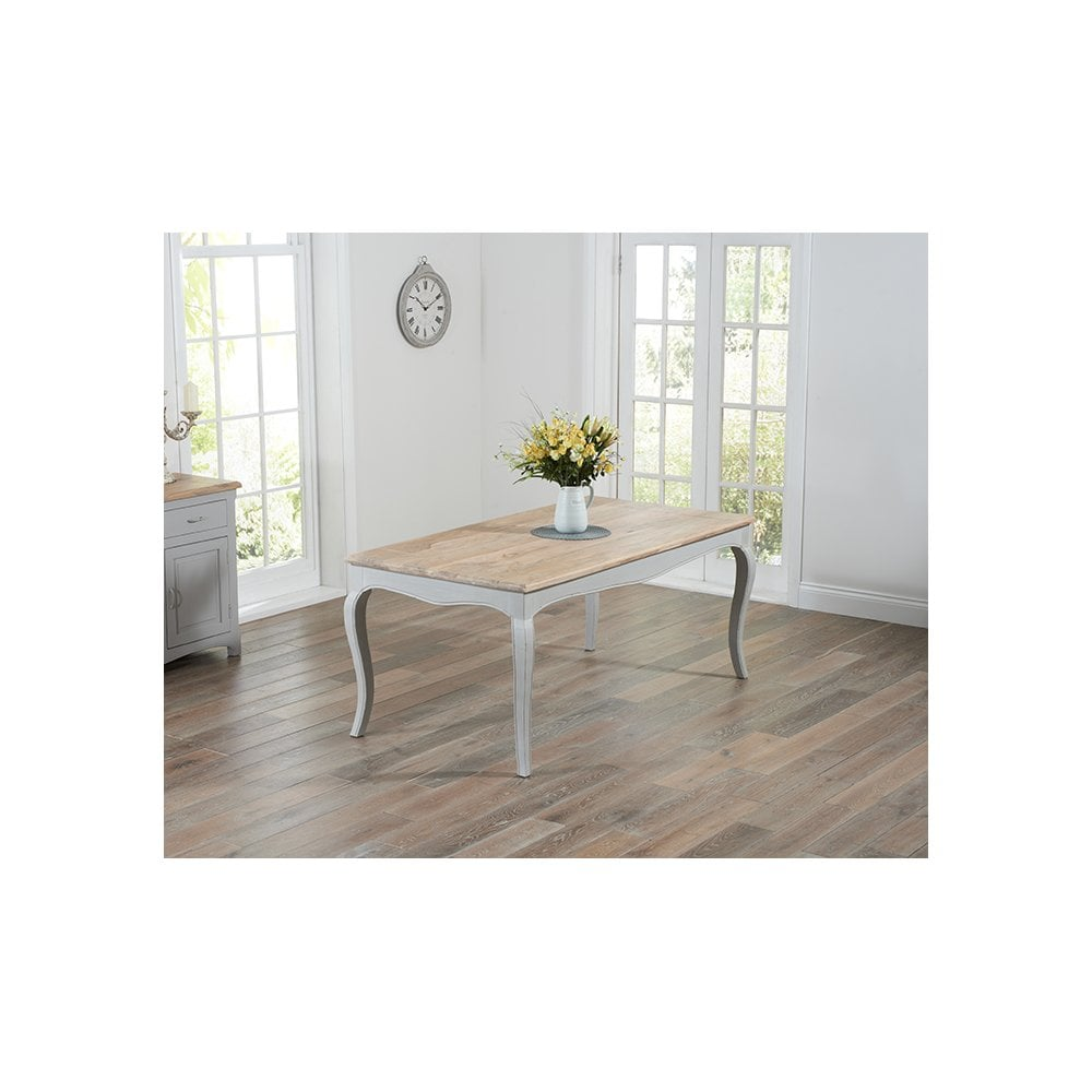 Sienna Oak And Grey Dining Table 175cm