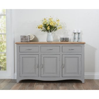 Sienna Oak and Grey Sideboard