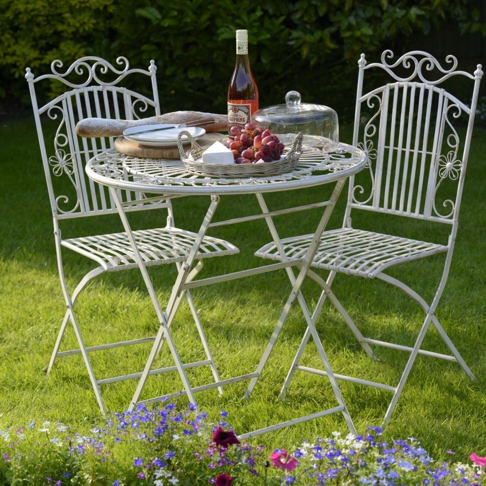 Metal Table And Two Chairs & Metal Table And Two Chairs - Outdoor Living from Breeze Furniture UK