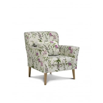 Norton Botanical Accent Chair