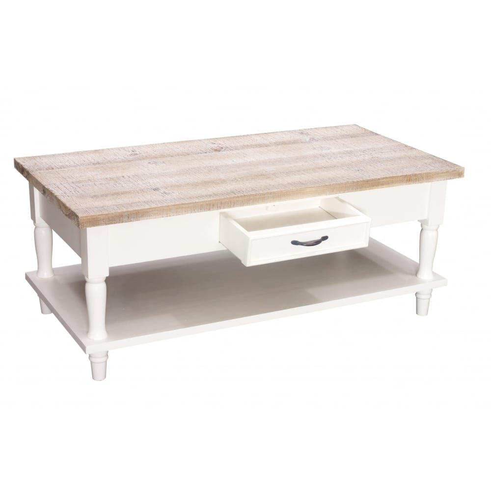 Swell Oxford Coffee Table With 2 Drawers And Shelf Caraccident5 Cool Chair Designs And Ideas Caraccident5Info