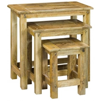 Granary Royale Nest of 3 Tables