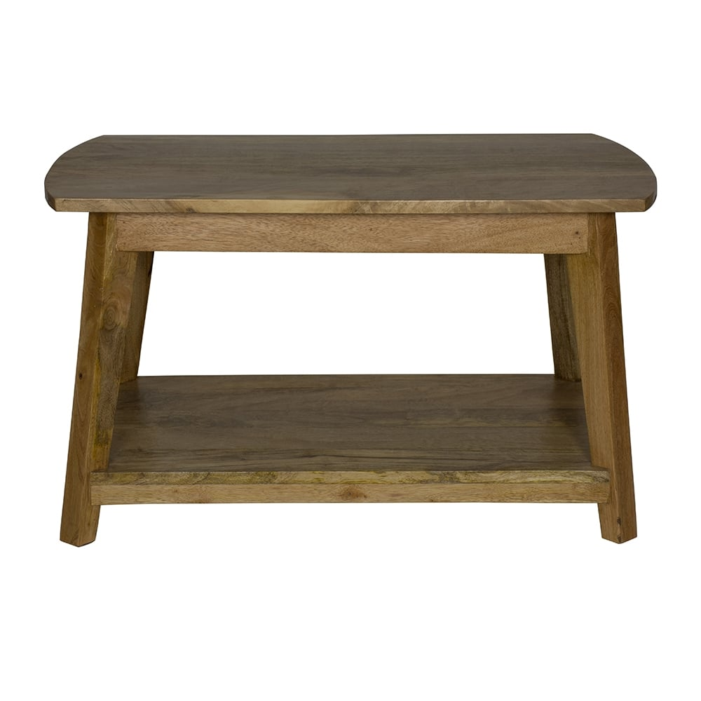 Granary Royale Scandinavian Style Coffee Table With Shelf