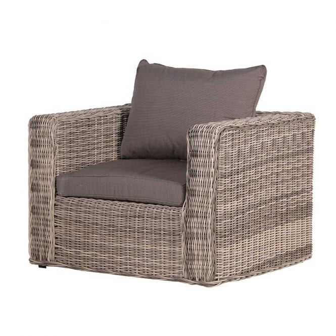 Coach Home Rattan Armchair With Cushion Outdoor Living From Breeze