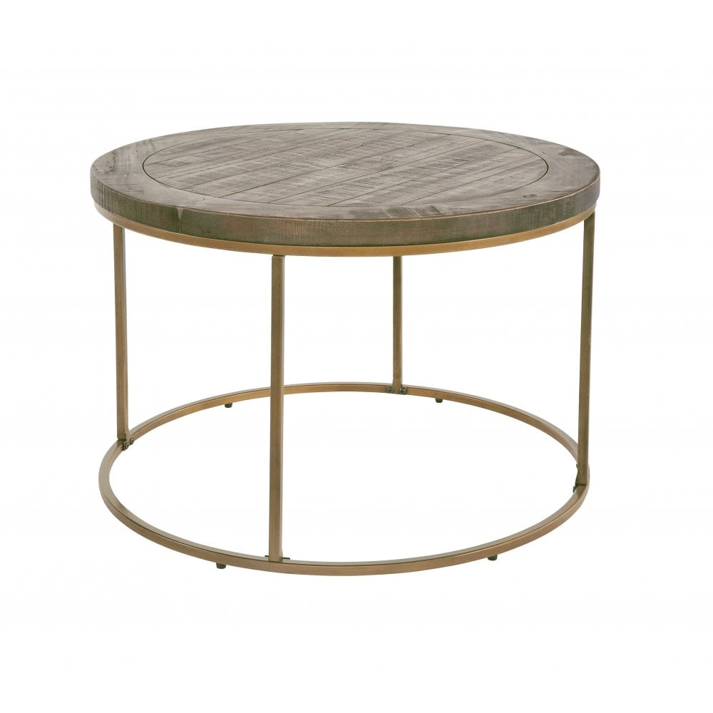 Tate Nutmeg Circular Coffee Table