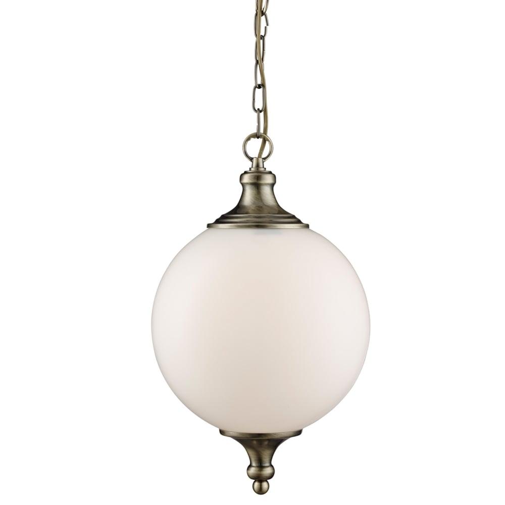 glass ball lighting. ATOM ANTIQUE BRASS PENDANT LIGHT WITH OPAL GLASS BALL SHADE Glass Ball Lighting