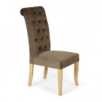 Chiswick Fabric Dining Chair (Pair)