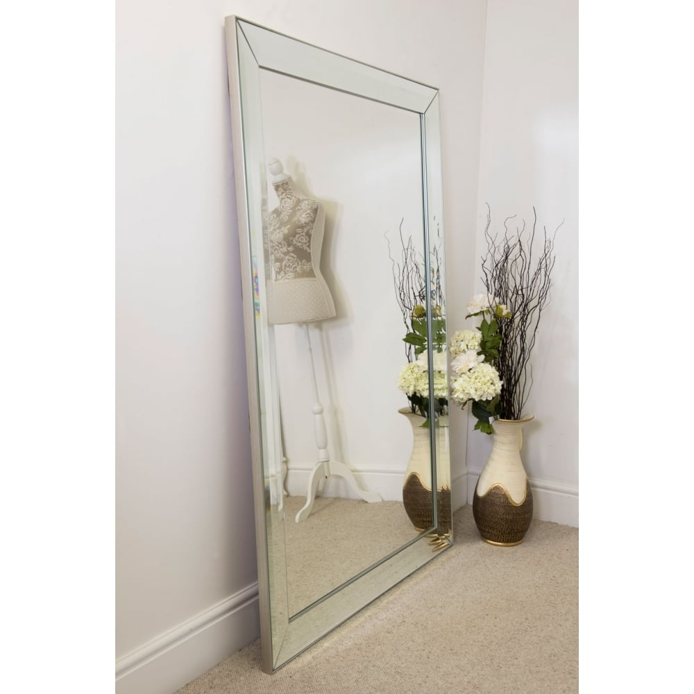 Sheringham All Glass Large Modern Mirror Accessories
