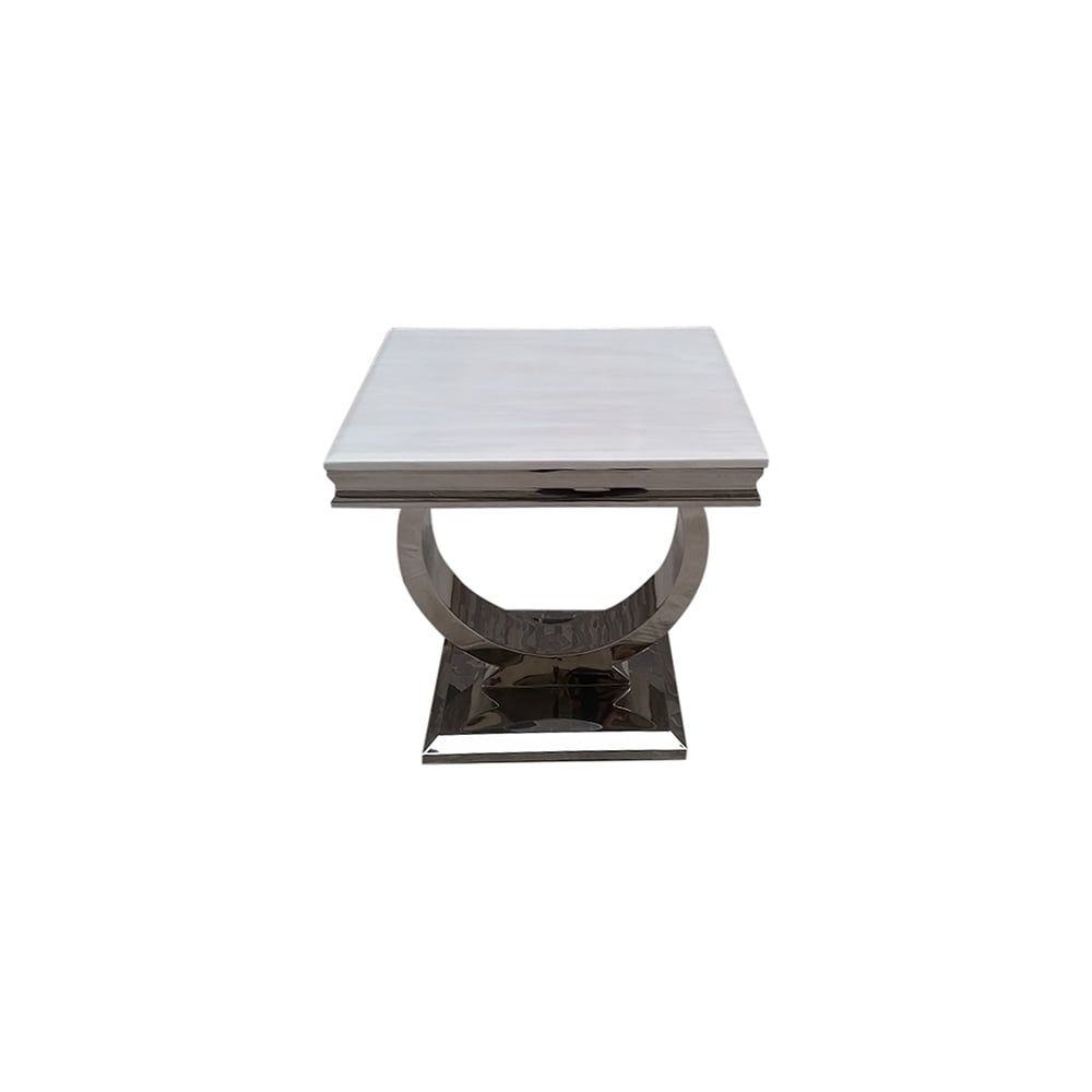 Vida living arianna marble lamp table living room from breeze arianna marble lamp table geotapseo Gallery