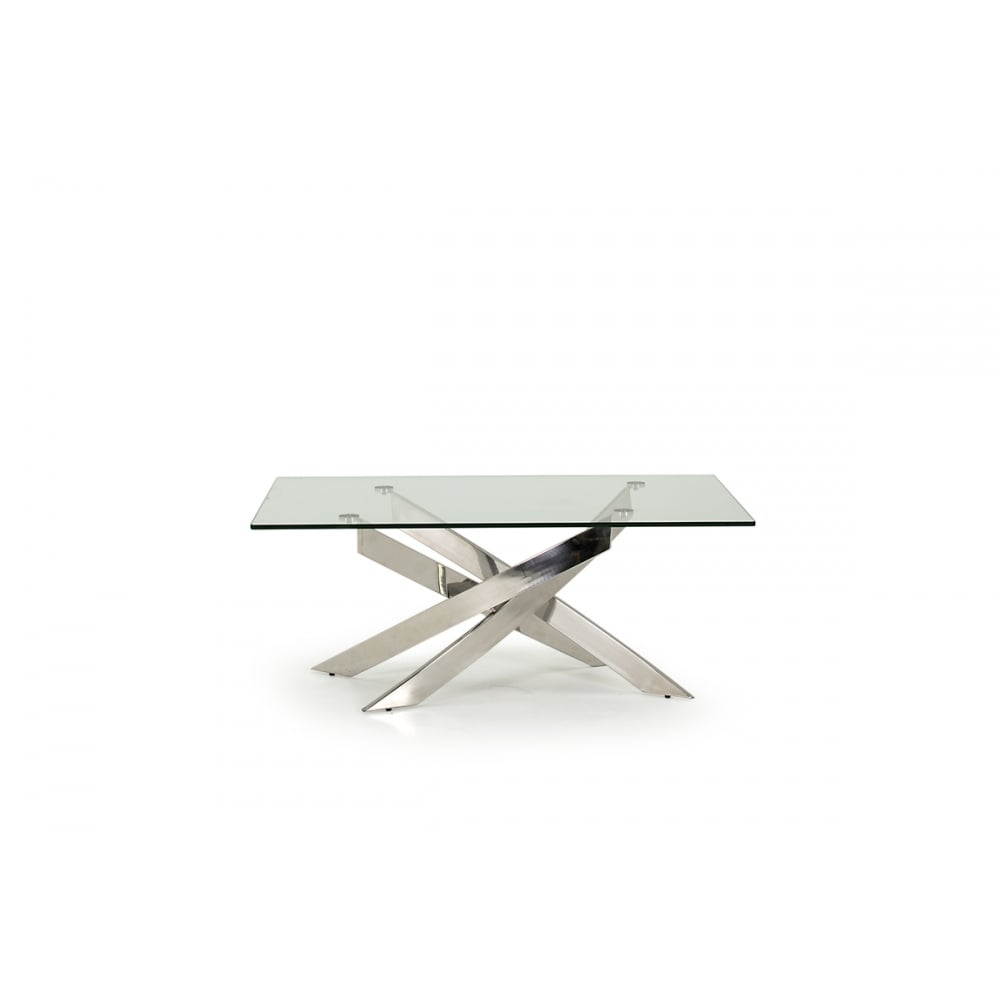 Kalmar Tempered Glass Coffee Table Living Room From