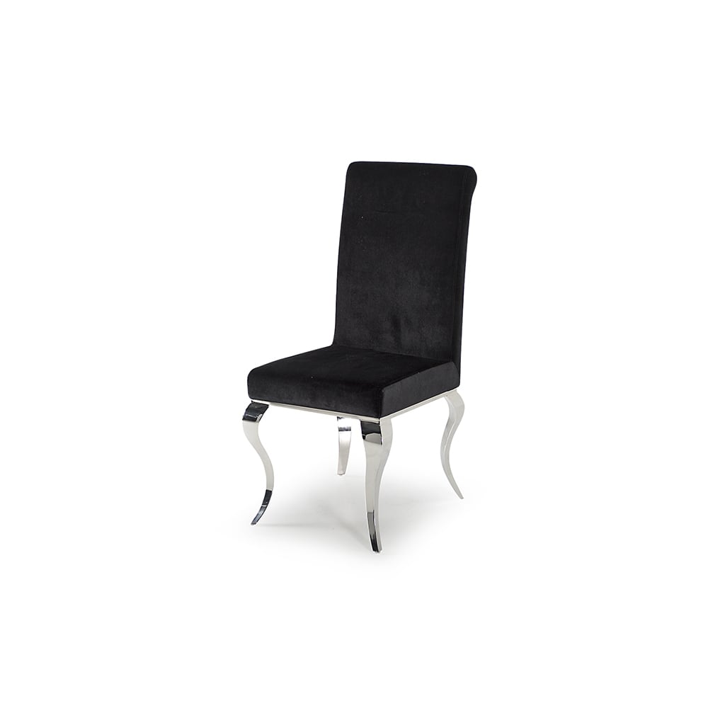 Strange Louis Dining Chair Black Set Of 2 Camellatalisay Diy Chair Ideas Camellatalisaycom