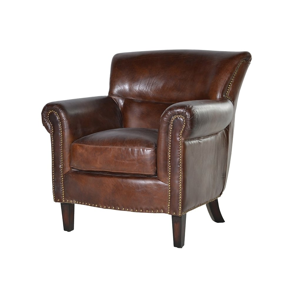 Vintage Leather Classic Armchair Living Room From Breeze