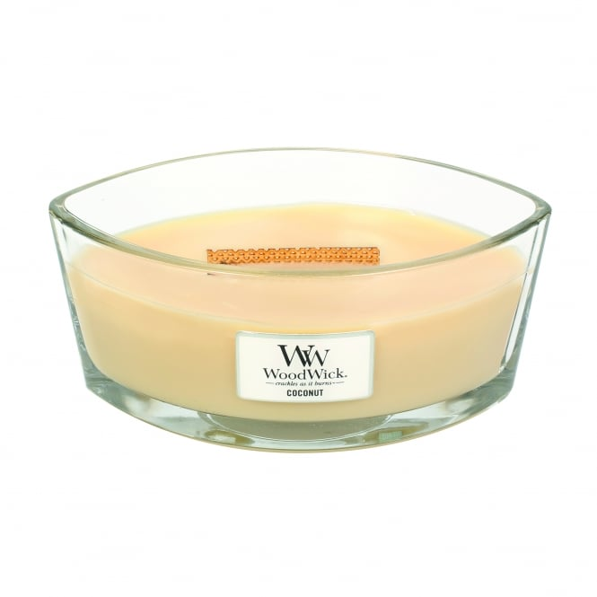 WoodWick Hearthwick Candle - Coconut