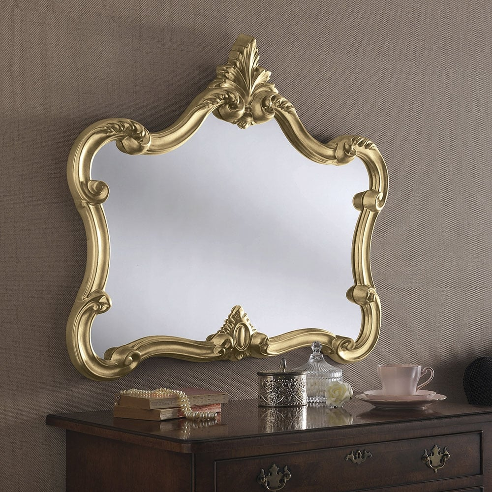 Ornate Accent Mirror Accessories From Breeze Furniture Uk